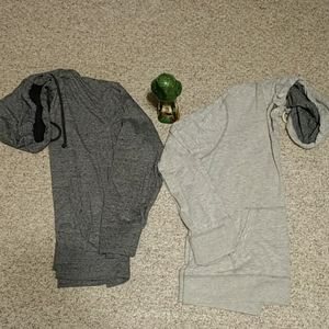 American Eagle Hooded T Shirts